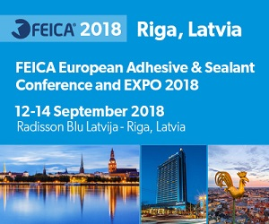 FEICA 2018 European Adhesive and Sealant Conference and EXPO