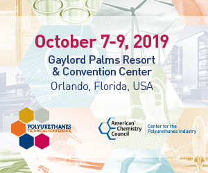 2019 POLYURETHANES TECHNICAL CONFERENCE
