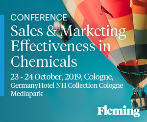 Sales & Marketing Effectiveness in Chemicals - Fleming. Events