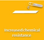 Enhanced chemical resistance for PU formulations