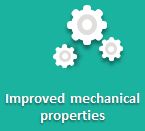 Improved mechanical properties for durable PU adhesives & sealants