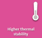 Increased thermal stability for durable PU adhesives & sealants