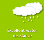 Increased water resistance for durable adhesives & sealants