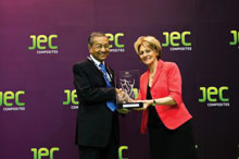 Tun Dr. Mahathir bin Mohamad, Former Malaysian Prime Minister, Receiving JEC Life Achievement Award