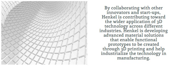 Henkel Adhesive Develops Innovative Material Solutions for 3D Printing