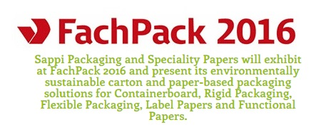 Sappi to Display Self-adhesive Label Papers & Wet Glue Labels at FachPack 2016