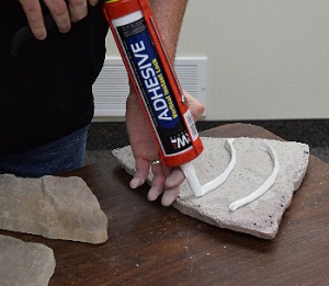 SRW Products Presents New Adhesive Technology for Vertical Hardscape Applications