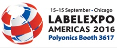 Polyonics at LabelExpo Americas