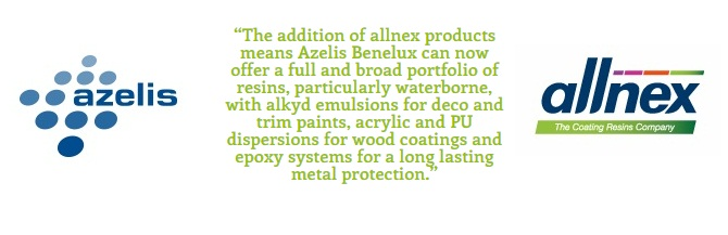 Azelis & allnex Expand Distribution Agreement for WB Resins & Additives