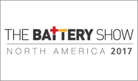 Battery Show North America 2017