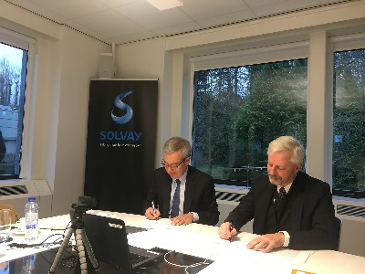 Solvay and Ellen MacArthur Foundation Sign Agreement to Accelerate Transition towards Circular Economy
