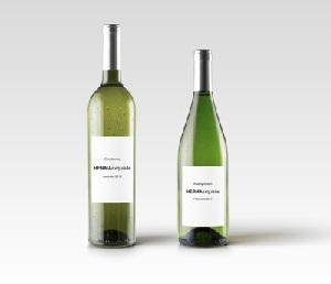 Beautifully Purist: White Wine Labels without any Frills are Trendy