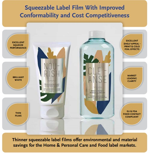 New Squeezable Films Offers Environmental Benefits