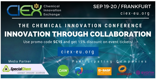 CIEX (Chemical Innovation Exchange) Conf. 2018