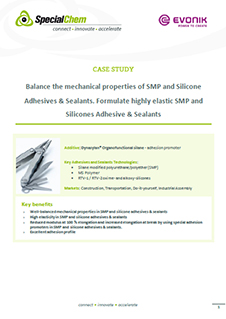 Balance the mechanical properties of SMP and Silicone