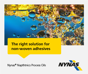 Process oils for non-woven adhesives