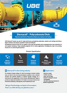 Eternacoll® - Polycarbonate Diols