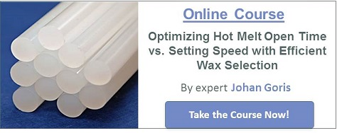 Optimizing Hot Melt Open Time vs. Setting Speed with Efficient Wax Selection